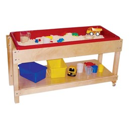 Sand & Water Table w/ Shelf