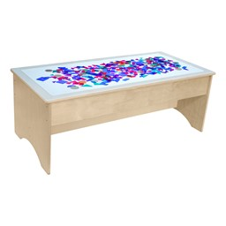 """Kids Light Table (48"""" W) (Geometric Shapes Not Included)"""