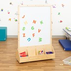Double Sided STEM Magnetic Dry Erase Easel