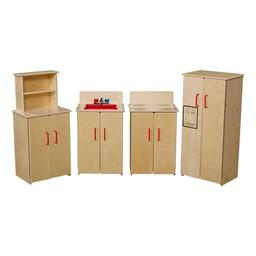 Preschool Play Kitchen Set