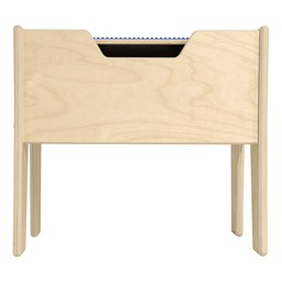 Wooden Two-In-One Toddler Game Table