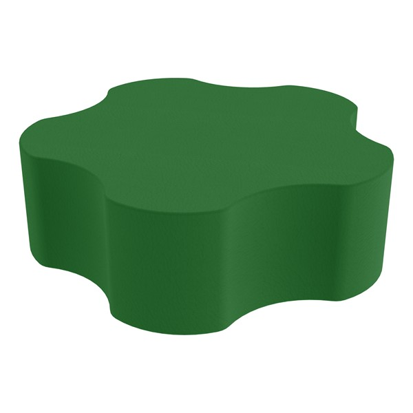 "Foam Soft Seating - Five Point Gear (12"" H) - Green"
