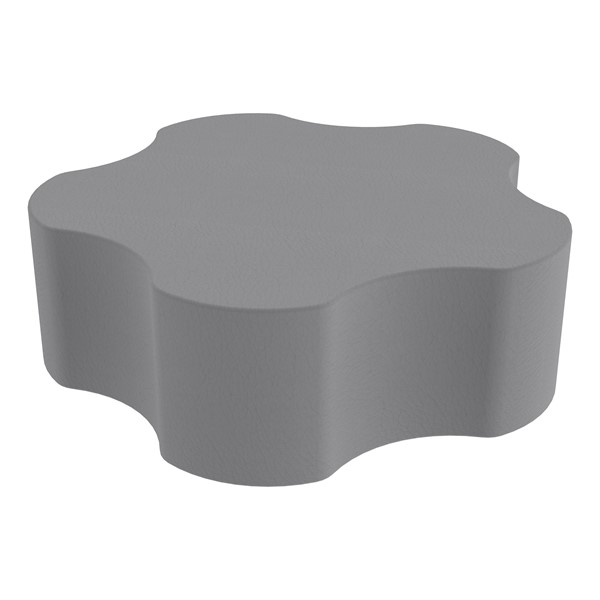 """Foam Soft Seating - Five Point Gear (12"""" H) - Gray"""