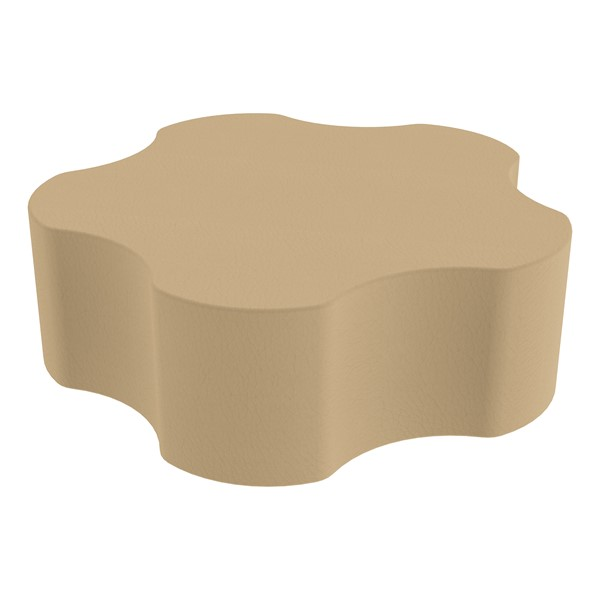 """Foam Soft Seating - Five Point Gear (12"""" H) - Sand"""