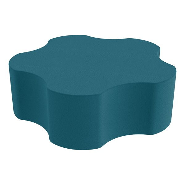 """Foam Soft Seating - Five Point Gear (12"""" H) - Teal"""