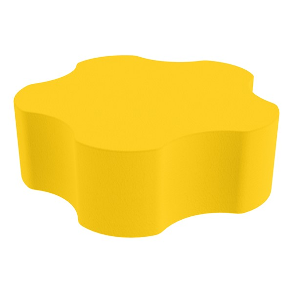 """Foam Soft Seating - Five Point Gear (12"""" H) - Yellow"""