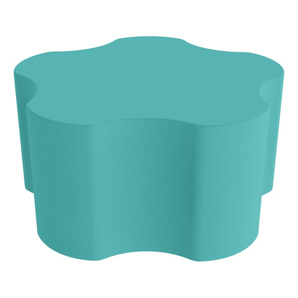 """Foam Soft Seating - Five Point Gear (16"""" H) - Turquoise"""
