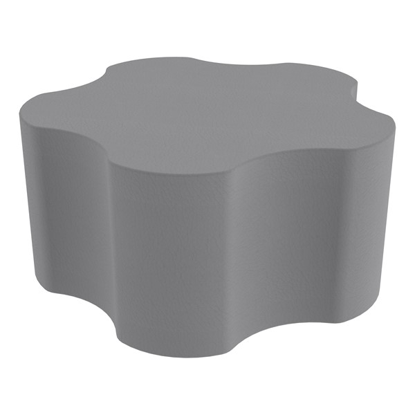 """Foam Soft Seating - Five Point Gear (16"""" H) - Gray"""