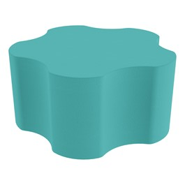 """Foam Soft Seating - Five Point Gear (16\"""" H) - Turquoise"""
