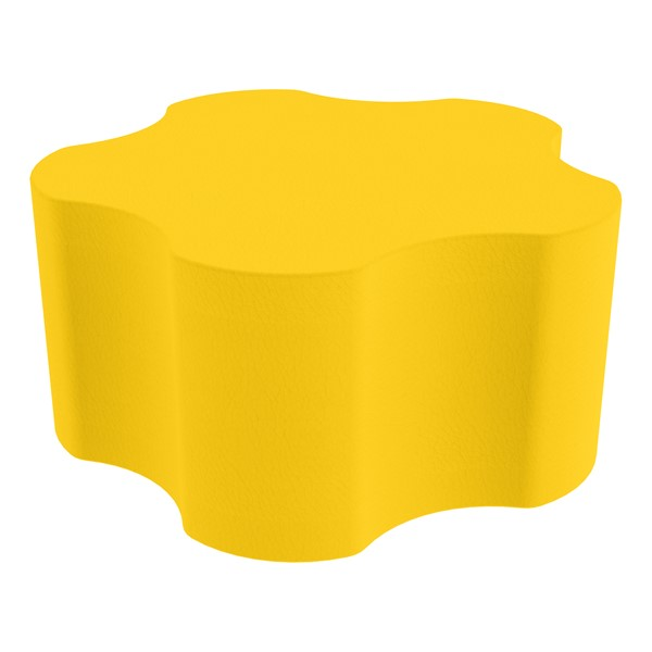 """Foam Soft Seating - Five Point Gear (16"""" H) - Yellow"""