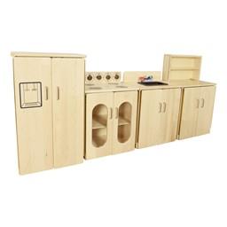 Maple Pretend Kitchen - Complete Set