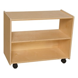 "Mobile Shelving (24"" H) - Unassembled"