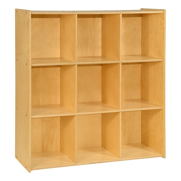 Cubby Storage Unit w/ Nine Cubbies