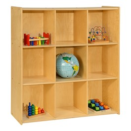 Cubby Storage Unit w/ Nine Cubbies