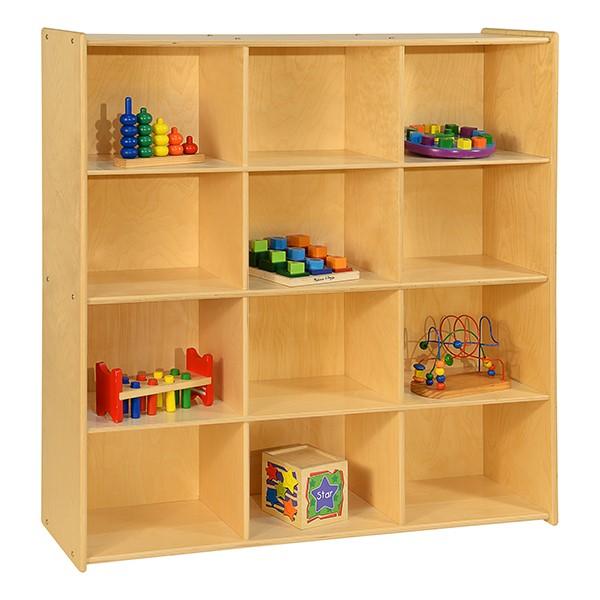 Cubby Storage Unit w/ 12 Cubbies