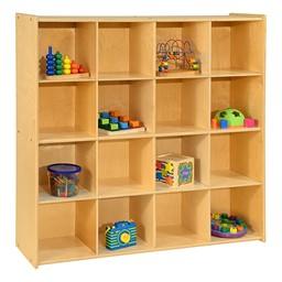 Cubby Storage Unit - 16 Cubbies
