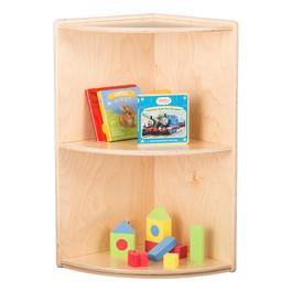 "Classroom High Corner Shelf w/ Two Shelves (29\"" H)"