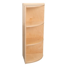 "Classroom High Corner Shelf w/ Three Shelves (36"" H)"