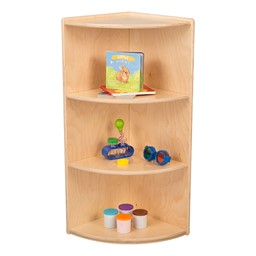 High Corner Classroom Shelf