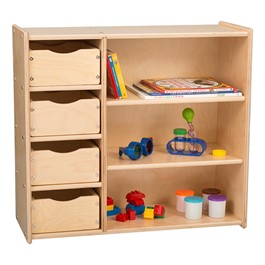 Multi-Use Storage Center w/ Drawers