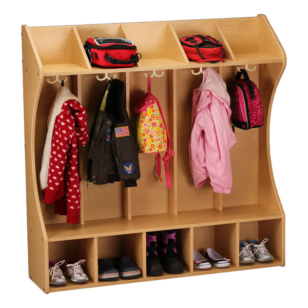 Sprogs Five Section Wooden Locker