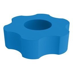 Foam Soft Seating - Six Point Gear - French Blue