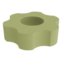Foam Soft Seating - Six Point Gear - Fern Green