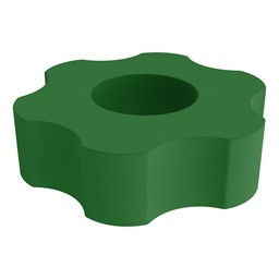 "Foam Soft Seating - Six Point Gear (12"" H)"
