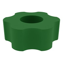 Foam Soft Seating - Six Point Gear - Green