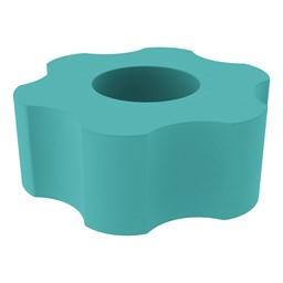Foam Soft Seating - Six Point Gear- Turquoise