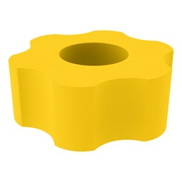 Foam Soft Seating - Six Point Gear - Yellow