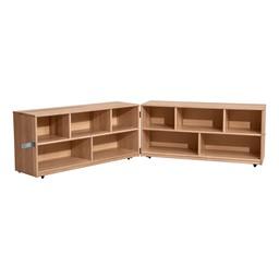 """Maple Folding Storage Unit - 24"""" H"""