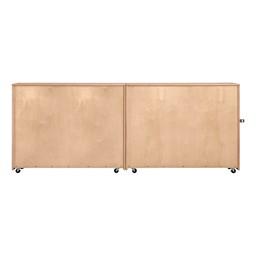 Maple Folding Storage Unit - Back