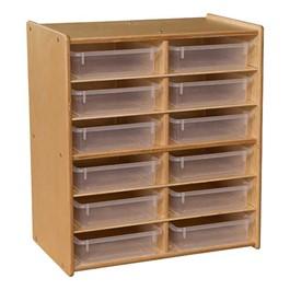 Stationary Letter Tray Storage Unit