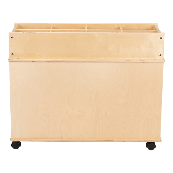 Preschool STEM Bin Cart