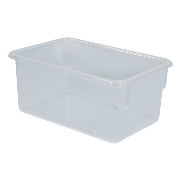 Maple 20-Tray Cubby Storage Unit - Clear Tray