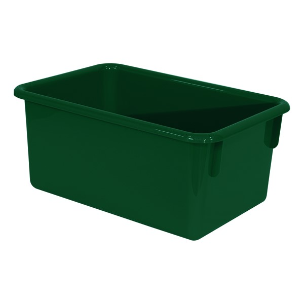 Maple 20-Tray Cubby Storage Unit - Green Tray
