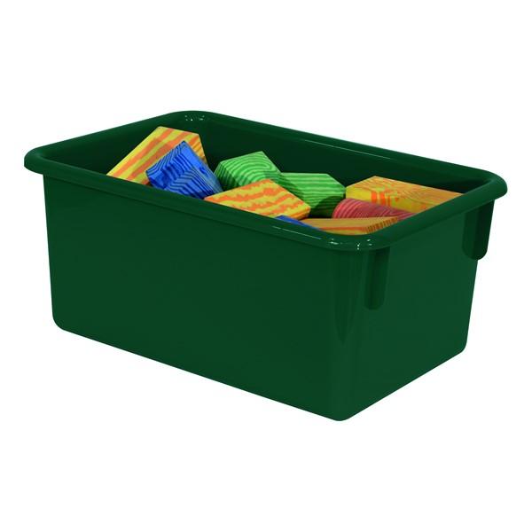 Maple 20-Tray Cubby Storage Unit - Green Tray