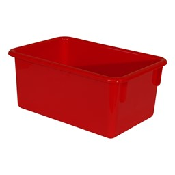 Maple 20-Tray Cubby Storage Unit - Red Tray