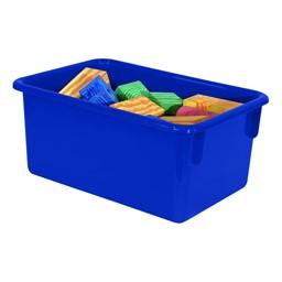 Maple 25-Tray Cubby Storage Unit - Blue Tray