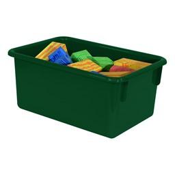 Maple 25-Tray Cubby Storage Unit - Green Tray
