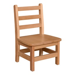 "Hardwood Ladderback Chair (8"" Seat Height)"