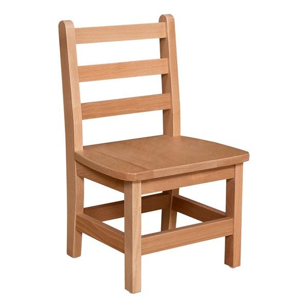 "Hardwood Ladderback Chair (10"" Seat Height)"