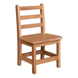 "Hardwood Ladderback Chair (12"" Seat Height)"
