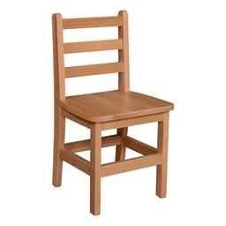 "Hardwood Ladderback Chair (14"" Seat Height)"