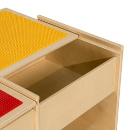 Wooden Four-in-One Game Table