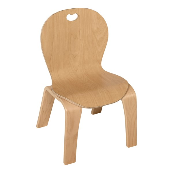 """Stackable Bentwood Kid's Chair (10"""" Seat Height)"""