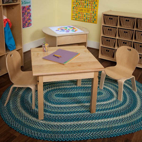 Stackable Bentwood Kid's Chairs