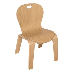 """Stackable Bentwood Kid's Chair (12"""" Seat Height)"""