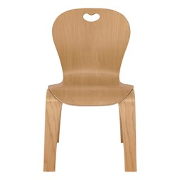 "Stackable Bentwood Kid's Chair - 12"" Height"